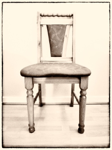 March 15 - One Chair