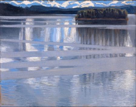 Akseli Gallen-Kallela-  Lake Keitele