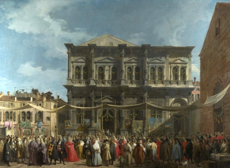 Canaletto - the Feast of Saint Roch