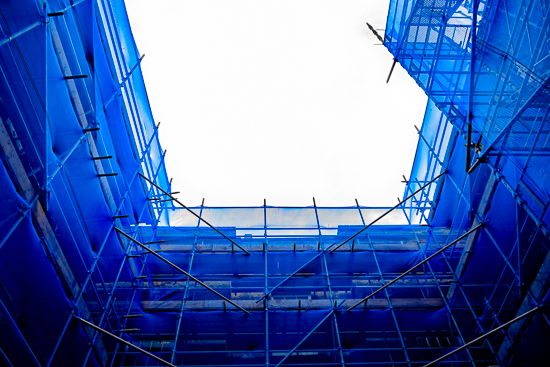 Construct in Blue